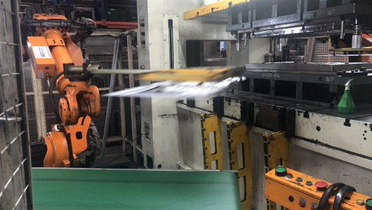 B5 Robotic stamping